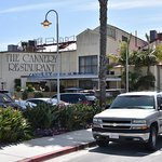 Parking Lot view of the Cannery