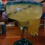 "Happy Hour ""small"" margarita $4.50"