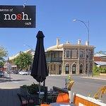 Four Seasons of Nosh Cafe signage