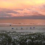 Sunset on Amelia Island, FL, from Elizabeth Pointe Lodge