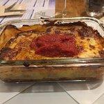My lasagna dish