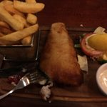 Fish & Chips: Pipping Hot and delicious