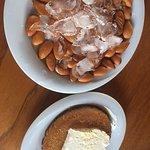 Fresh Almonds and Künefe