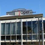 Nice modern opera house.
