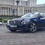 Mercedes Eclass 250 , exterior view (business black leather, sunroof, 4M)