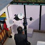 Setting up Telescope for Solar observation