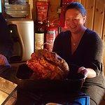 Kathryn and Bonfire steak
