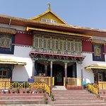 The sacred monastery