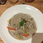 Ravioles sauce truffe