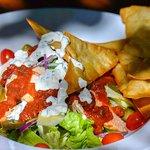 Mexican salsa salad