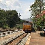 Thai-Burma Railway (Death Railway) - train approaching