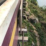 Thai-Burma Railway (Death Railway) - over the wooden bridge
