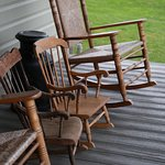 Foto de Country Log House Farm Bed and Breakfast