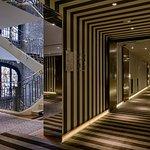 corridor, staircase