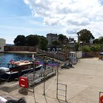 Brownsea Quay and Castle