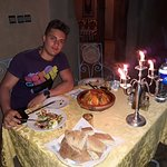 Delicious food at the riad.