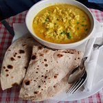 Coconut Curry...... at the Laughing Buddha Cafe