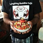 Breakfast at the Laughing Buddha Cafe... fresh, healthy and absolutely delicious!