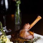 Lamb Shank served with Creamy Mashed Potatoes