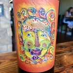 favorite wine at our last stop - of course we bought a bottle! (loved the art on the label too)