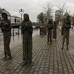 Photo of The Famine Sculptures