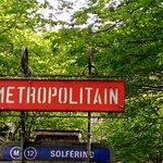 Entrance to Solferino stop, April 10