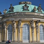 Sanssouci Palace from the outside