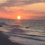 Sunrise over Ft. Myers as viewed from Oceans Reach beach