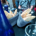 Culinary tours Montmarte April 2018 - bread with lunch