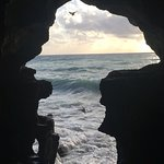 This photo currently taken by me last Sunday, from the legendary cave of Hercules. In Greek myth