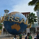 Universal entrance in Sentosa