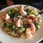 Shrimp Scampi, so good!