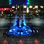 Fountain view from window 1