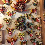 Wall of masks!