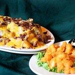 Tommy Texas Cheese Fries & Shrimp App.