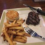 Prime rib and top sirloin steak