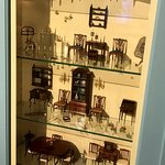 Miniature furniture, each with working drawers