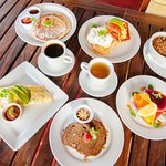 Fresh and healthy breakfast - post-yoga or pre-surf, we have something for you!