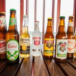 In addition to a diverse cocktail list and wine menu, we also offer a variety of local beers