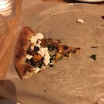 Butternut Pizza - what's left of it!