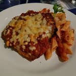 Chicken parmesan with penne pomodoro 2/ 1 s[ecial
