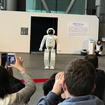 demonstration of ASIMO