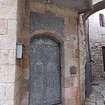 Preciosa puerta tallada