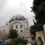 Vista de la sinagoga Hurva