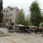 Vista de la plazuela principal dle barrio judío