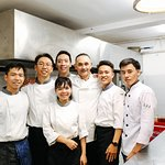 Our kitchen team - Chef Marco and his staff :)