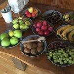 Obstauswahl zum Frühstück