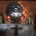 altar facing the entrance