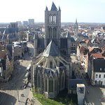 Belfry and Cloth Hall: view from the top