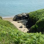 One of the little coves - ideal for a picknick
